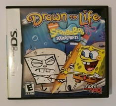 Drawn to Life SpongeBob SquarePants Edition 2008 Nintendo DS CIB Complete - $8.86