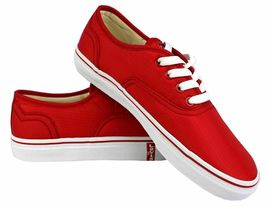 Levi's Women's Classic Premium Atheltic Sneakers Shoes Rylee 524342-01R Red image 6