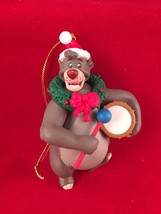 Baloo Disney Grolier Christmas Magic Ornament 140  Jungle Book Mowgli Sa... - $19.79