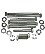 94 95 Ford Mustang 302 5.0L EFI water pump bolts-ss - $9.71