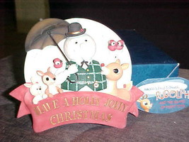 Enesco Rudolph Sam With Misfits Plaque Have A Holly Jolly Christmas MIB #119344 - $98.99