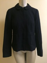 Talbots Size 4 Black Zip Up Blazer Career - $23.27