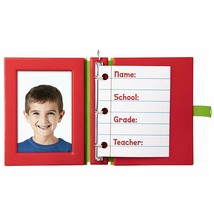 Hallmark Keepsake 2019 School Days Frame Christmas Ornament New Box - $18.49