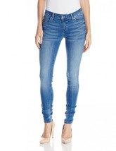 Levi's 535 Women's Premium Super Skinny Jeans Leggings Blue Crackle 119970150