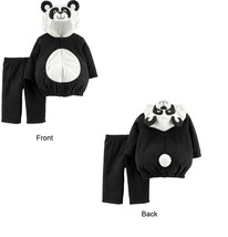 Carters Panda Halloween Costume Size 3-6 Months Boy or Girl 2 Piece Set - £15.84 GBP