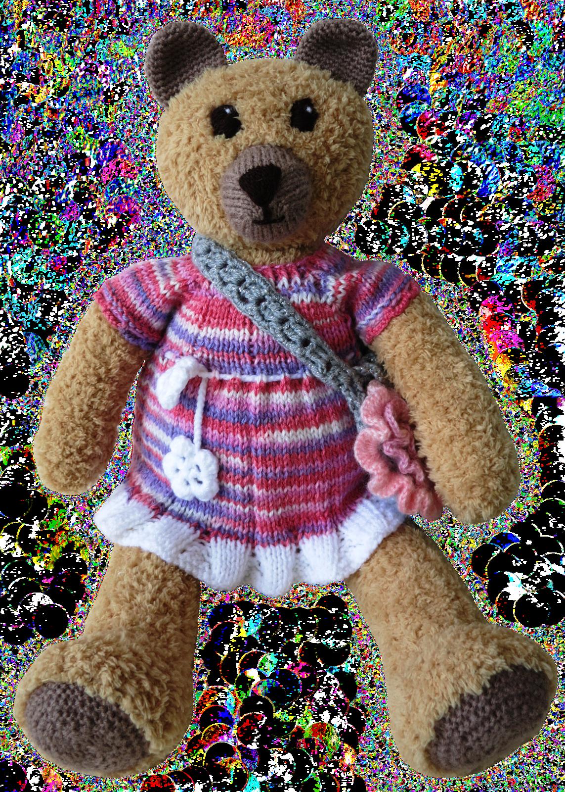 Handmade teddy bear mashka by yagrashka kopia