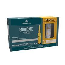 Endocare Tensage 20 Ampollas + Heliocare 360 Water Gel 15Ml - $111.01