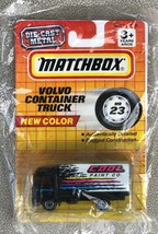 Matchbox MB23 Volvo Container Box Truck Cool Paint Co. New in Sealed Pac... - $10.95