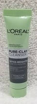 L'oreal Paris PURE-CLAY Cl EAN Ser Detox-Brighten Remove Dirt Oil .5 oz/15mL New - $7.43
