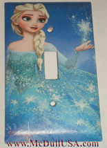 Frozen Elsa Light Switch Toggle Rocker Duplex Outlet wall Cover Plate Home decor image 4
