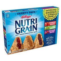 Kellogg's Nutri-Grain, Soft Baked Breakfast Bars, Variety Pack, 10.4 oz ... - $8.99