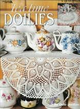 Tea Time Doilies Leisure Arts 6 Beautiful Doilies to Crochet in Thread RARE OOP - $12.95