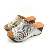 Bonavi Euphoria Leather Wedge Slip On Comfort Sandals Choose Sz/Color - $116.10