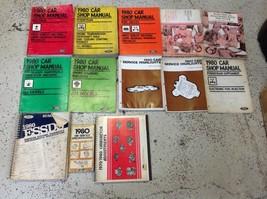 1980 Ford Mustang & Capri Repair Service Shop Workshop Manual Set OEM W LOTS - $98.51
