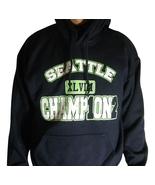 Seattle Seahawks Super Bowl XLVIII 48 Champions Commemorative Hoody Swea... - $24.95