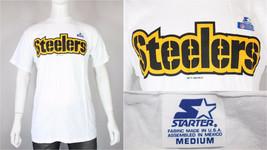 Pittsburgh Steelers Starter Camiseta M/L Vintage Nuevo Restos de Stock 2... - $49.99