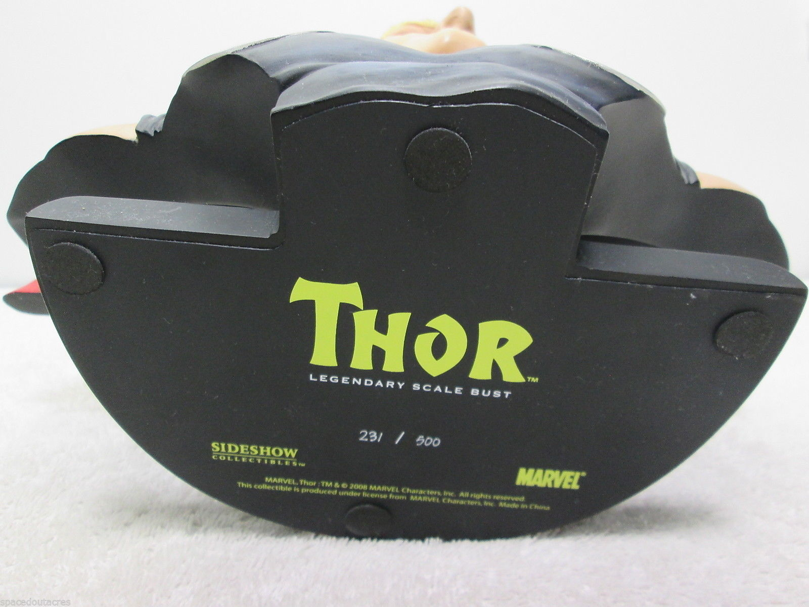 Marvel Thor Legendary Scale Bust 13in. Tall 231/500 - Sideshow 2008