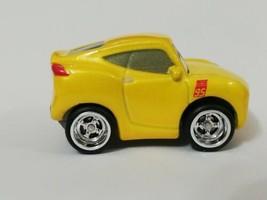 Disney Pixar Cars Mini Racers Yellow Cruz Ramirez In Real Riders Customs - $14.90