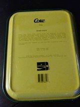 Vintage Coca Cola Metal Tray Santa Claus Dear Santa 1989 Made in USA image 2