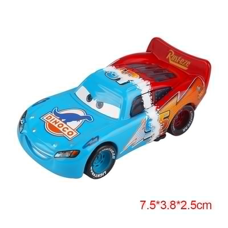 "Disney Pixar Cars 2 ""Mc Queen Dinoco"" Diecast Vehicle Kids Toys"