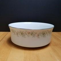 Johann Haviland Forever Spring Serving Bowl White Multi-Color Floral Rim  - $9.89