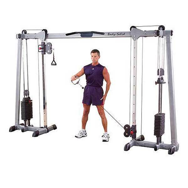 Body solid deluxe cable crossover 1 large