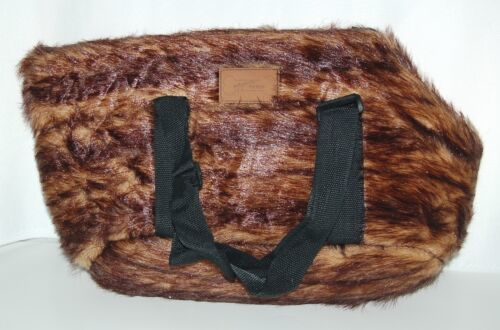 Maxam SPPETCR Pet Club Faux Mink Pet Carry Bag Size Small