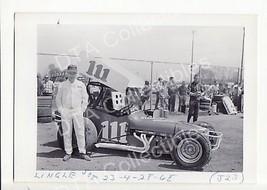 JOE LINGLE #111 SPRINT CAR RACING photo 1968 - $17.46