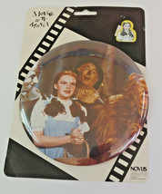 Wizard Of Oz Dorothy 6 Inch Button Pin Vintage - $18.69