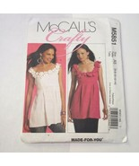 McCall's 5851 Size 6-14 Misses' Tunics Top - $11.64