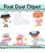 Chubbie Tooth Fairy Clip Art - $1.25