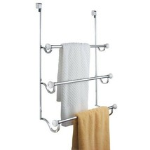 Back Door Bar Towel Rack Holder Organizer Drying Dry Mount Bathroom Laun... - $51.82