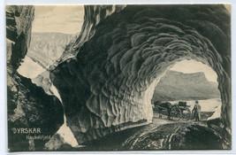 Road Tunnel Haukelifjeld Dyrskar Norway 1910c postcard - $6.93