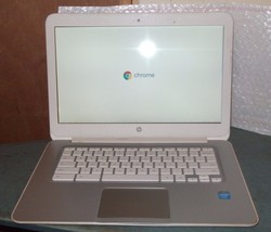 "HP Chromebook 14 SMB (G1) 14"" 1.40GHz Dual Core Intel Celeron 4GB Ram 32GB - $45.00"