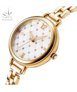 SK® Top Quality Famous Brand Luxury Bracelet Quartz Watch for Female Ladies - $27.28