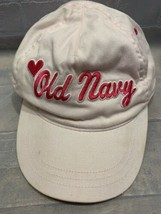 f097a577e1bd0 OLD NAVY Pink Heart Kids Youth Adjustable Cap Hat -  5.59