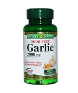 Nature's Bounty, Garlic, , 2,000 mg, 120 Coated Tablets-100% Herbal & Pure - $22.95