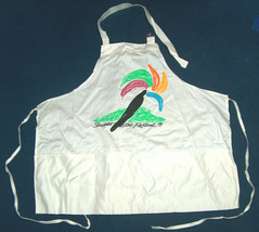 Expertees Sausalito Art Festival 1991 Collectible White Cook Chef Barbec... - $12.88