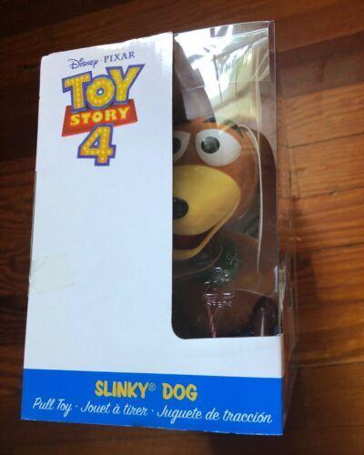 Disney Pixar Toy Story 4 Slinky Dog Pull Toy 2018- NEW