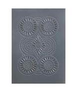 Country new gray punch tin STURBRIDGE cabinet panel / 14 x10 - $13.10