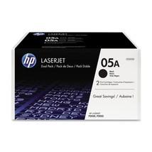 HP 05A 2-pack Black Original LaserJet Toner Cartridges (CE505D) - $185.08