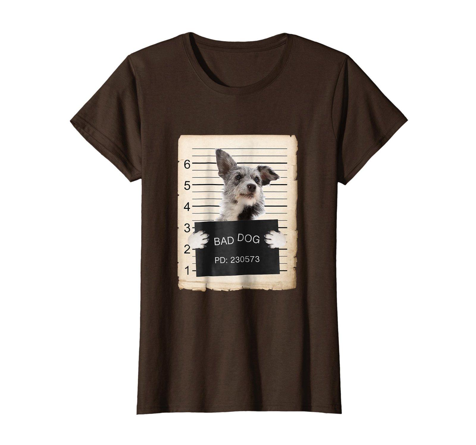 Australian Cattle Dog mug shot bad dog Shirt