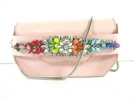 Steve Madden NWT $98 Blush Pink Crossbody Clutch Jeweled Small Pauline S... - £22.11 GBP