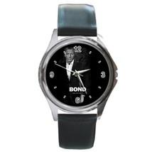 Round Metal Unisex Watch Highest Quality James Bond - $23.49