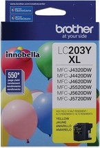 BROTHER MFC LC203Y Yellow Ink Cartridge For Brother MFC-J4420DW, MFC-J460DW - $27.67