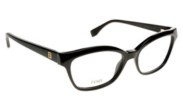 5bfbe94b7352 Fendi Eyeglasses FF0046 Black Matte Black 64H Women  39 s Optical Frame  54mm -