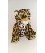 """Build A Bear 16"""" WWF Series Amur Leopard Plush Toy with Tag Collectibear... - $34.64"""