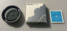 Hoya HMC PL-CIR 62mm Lens Filter Made in Japan - $18.79