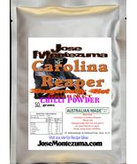Gourmet  Fresh Ground Carolina Reaper Chili Powder 50gram  chilli - $32.37