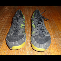 Reebok Black and Green Sneakers Men's US Size 11 - $24.99